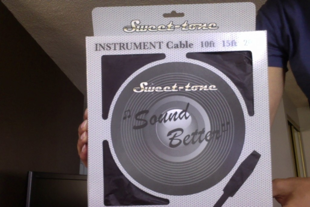 Sweet-Tone Cable in Box