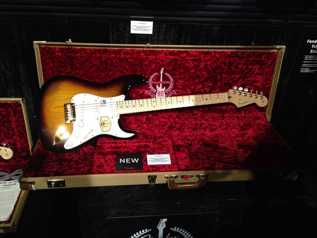 Fender 60th Anniversary Stratocasters