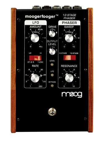 Moog MF103 Moogerfooger 12 Stage Phaser review