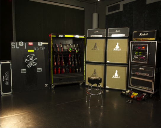 slash amps and rig